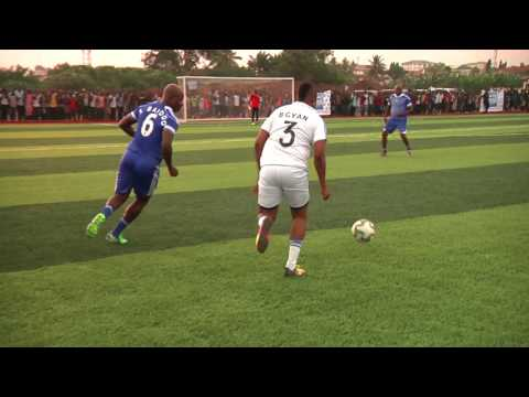 VIDEO: Ex-Black Stars XI vs Asamoah Gyan XI on Gyan Sports Centre