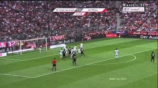 Highlights AC Milan 2 2 Internacional   27 07 2011