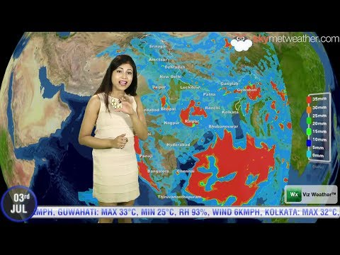 03/07/14 - Skymet Weather Report for India