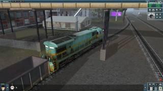 Trainz Simulator 2010 Engineers Edition Gameplay view on youtube.com tube online.