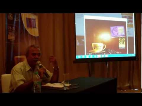 8 / 10   India International Coffee Festival 2014 press briefing   Ramesh P  Rajah