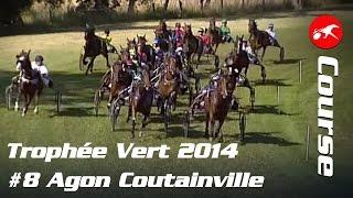 Trophée Vert 2014 - Etape 8 Agon Coutainville - La course
