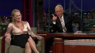 [HD] Meryl Streep on Letterman (7/15/2008) - Part 2