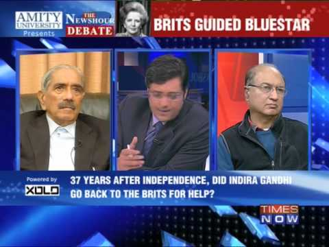 The Newshour Debate: Brits guided Operation Blue Star - Part 4 (15th Jan 2014)