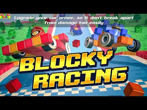 Blocky Racing Funny Android Games