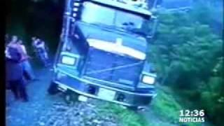 Aplastado por camión