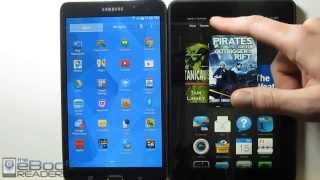 Kindle Fire HDX Vs Samsung Galaxy Tab 4 Comparison Review