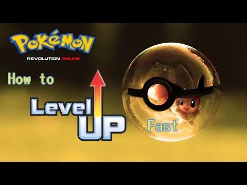 Hướng dẫn Pokemon Revolution Online - Ex 5 - Cách luyện cấp cho pokemon cấp thấp