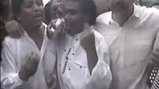 RAFAEL OROZCO - SEPELIO - CANTANTE DEL BINOMIO DE ORO - HACE 20 AÑOS
