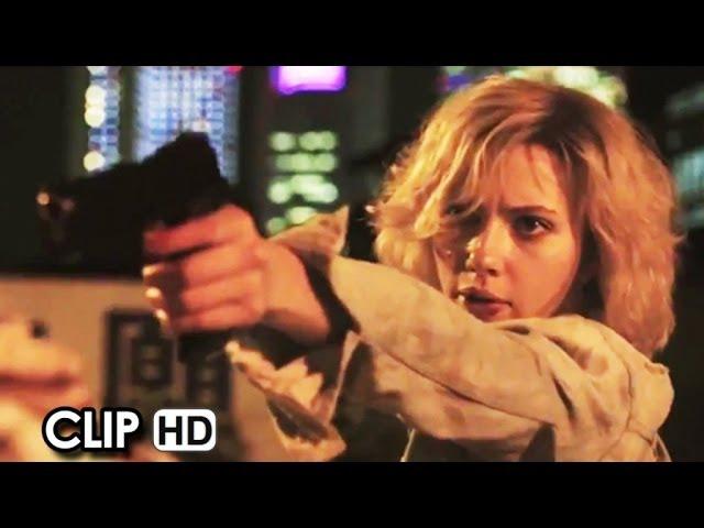 Lucy Red Band CLIP - Escape (2014) - Scarlett Johansson Movie HD