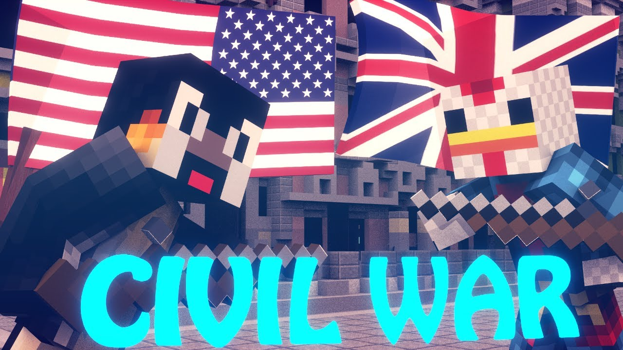 Minecraft civil war battle cody vs joe youtube