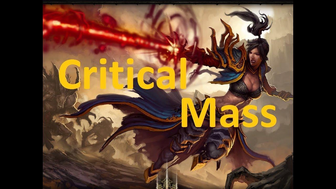 Diablo 3 patch 20 critical mass