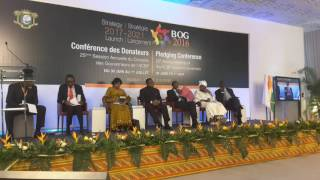 Annonce des contributions au Plan Stratégique de l'ACBF à la conférence des donateurs