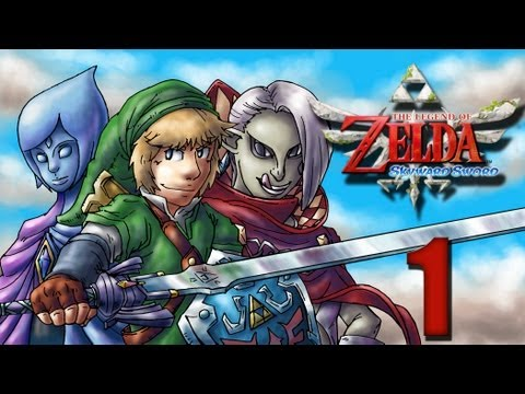 Let's Play Zelda Skyward Sword [German][Blind][#1] - Die Legende vom Volk in den Wolken!