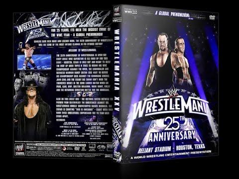 WWE Wrestlemania XXV (25) Review :: 25th Anniversary  :: The Shawn Michaels vs. Undertaker Classic!
