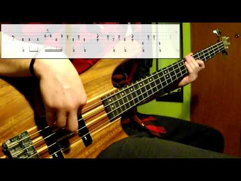 Jamiroquai - Space Cowboy (Bass Cover) (Play Along Tabs In Video)