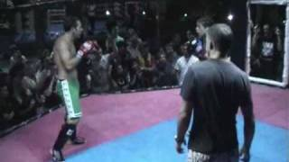 BBQ Beatdown 6 Claire Haights Beats Male Opponent MMA