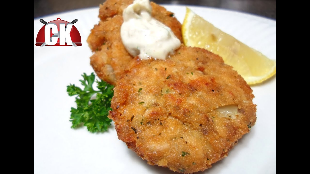 How To Make Salmon Croquettes Easy Cooking Youtube