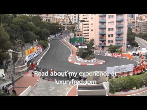 2014 Monaco Grand Prix final lap and Nico Rosberg victory lap