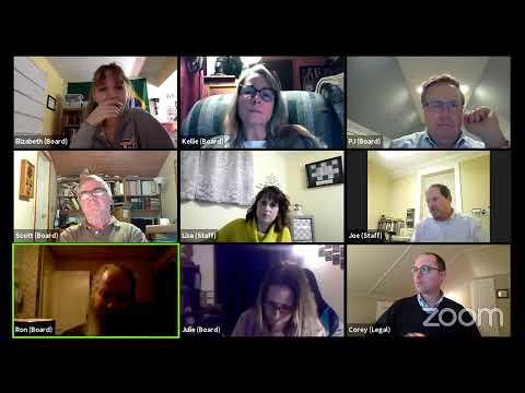 Plattsburgh Zoning Board of Appeals Meeting  1-19-21