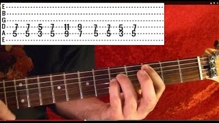 EASY JUDAS PRIEST! LIVING AFTER MIDNIGHT How To Play
