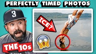 10 Perfectly Timed Photos With Adults | The 10s (React)