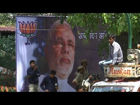 Modi eyes 'India's century' after landslide victory