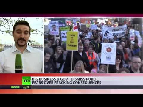 Fracking On: Businesses & UK govt dismiss public outcry