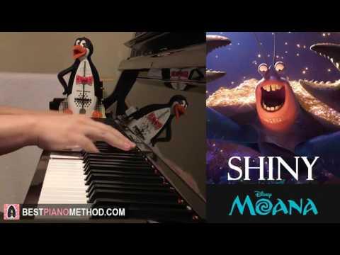 Moana - Shiny - Jermaine Clement (Tamatoa) (Piano Cover by Amosdoll)