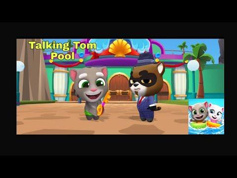 Talking Tom Pool Gameplay