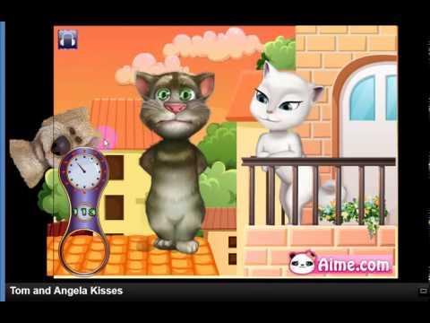 Nhạc Thiếu Nhi Sôi Động - Phim Hoạt Hình Vui Nhộn - Tom và Angela Kisses