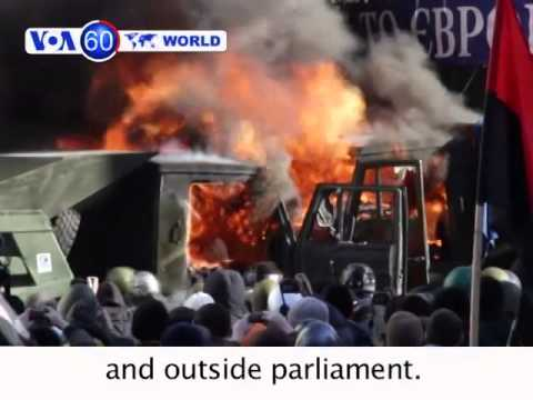 Thailand: Three dead, dozens hurt as police clash with anti-government protesters. VOA60 World 02-18