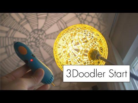 Making Art With The 3doodler Start // 3d Pen Review