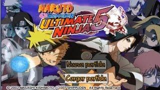 Descargar Naruto Shippuden Ultimate Ninja 5 Para