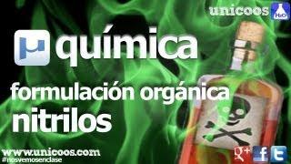 Química orgánica 1º Bachillerato. Nitrilos