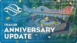 Planet Coaster - Évfordulós Frissítés Trailer