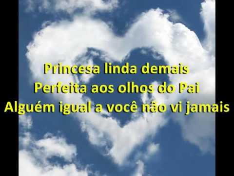 Princesa aos olhos do Pai - Ana Paula Valadão, com letra