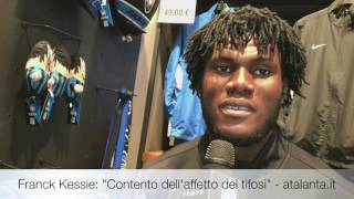 L'intervista di Franck Kessie all'Atalanta Store