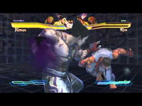 Street Fighter X Tekken: Nina's Cross Assault