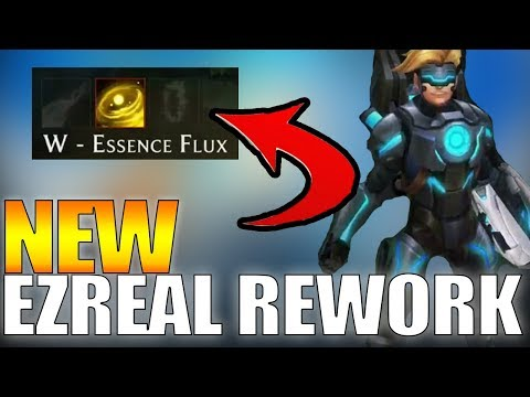 EZREAL REWORK! NEW ANIMATIONS, VISUAL UPDATE AND NEW ABILITIES! SEASON 8 - LEAGUE OF LEGENDS