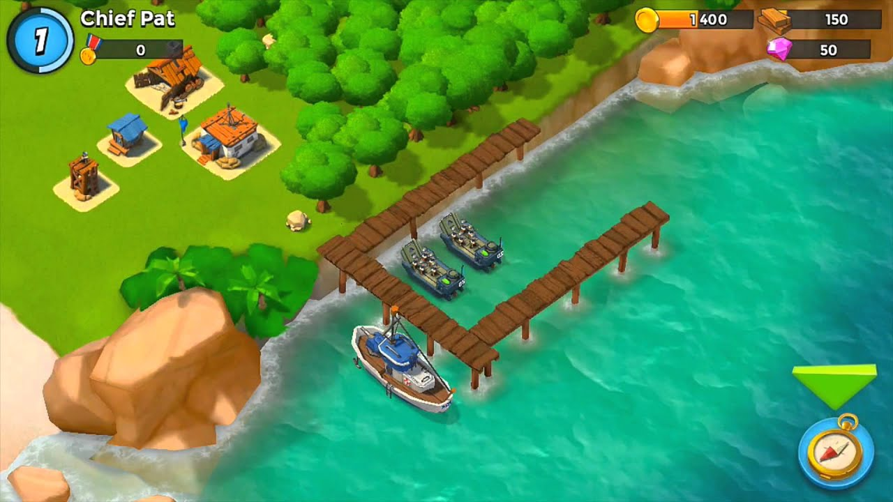 how to get diamonds in boom beach