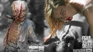 Inconsistent Walkers?! - Walkers climb & use rocks to break glass in TWD S1