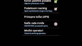 Kako Iskljuciti Mobilni Internet (3G) Na Android Mobitelu