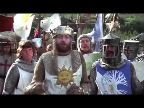 25 easy to miss jokes and metaphors in MONTY PYTHON AND THE HOLY GRAIL