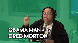 """Obama Man"" By Greg Morton"