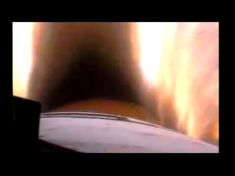 NASA Space Shuttle Launch FRONT WINDOW On-Board cam