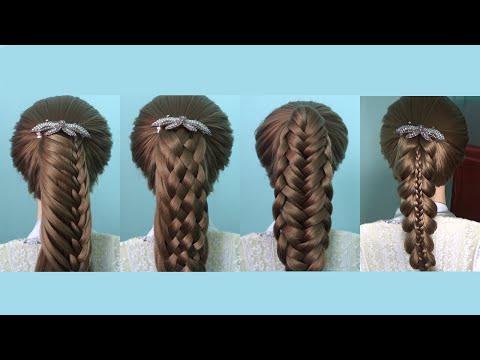 AnaTran - 4 cách tết tóc đuôi gà cho HỌC SINH đi học