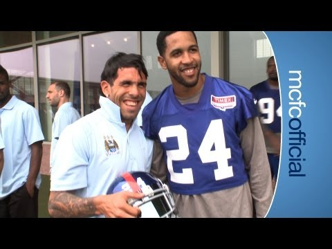 CITY ON TOUR: MCFC visit NY Giants training facility