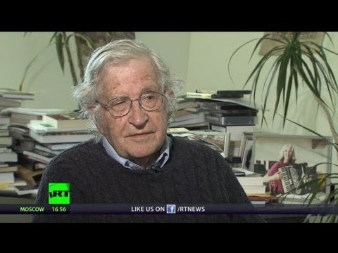 'Drone strikes a terror-generating machine' - Noam Chomsky (RT Exclusive)