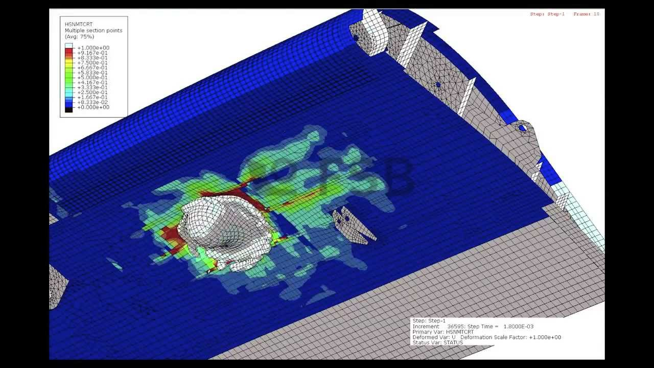 finite element analysis of a fuselage The application of finite element methods to the analysis of welded aircraft fuselage panels a m price school of aeronautical engineering, the queen's university of .
